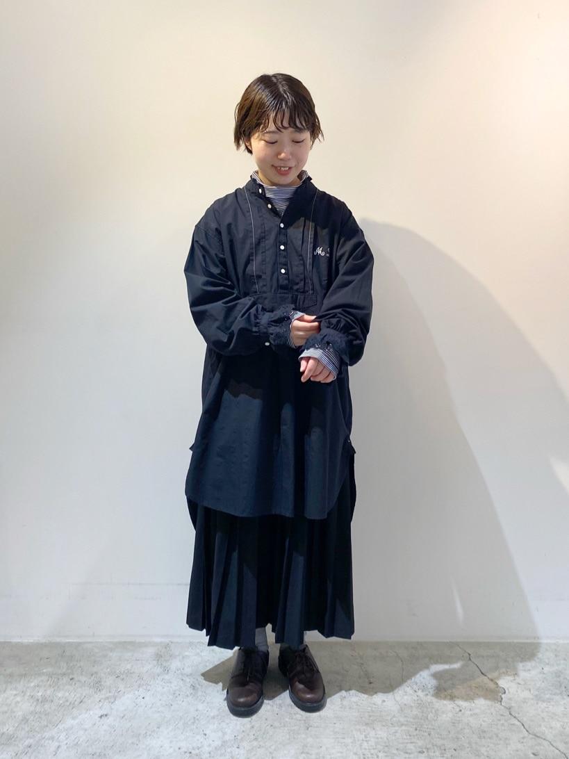 chambre de charme 京都路面 身長:150cm 2020.11.16
