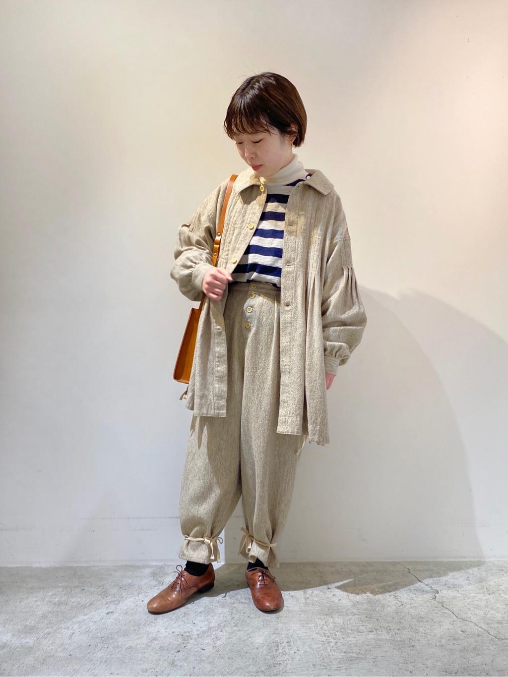 chambre de charme 京都路面 身長:150cm 2020.11.25
