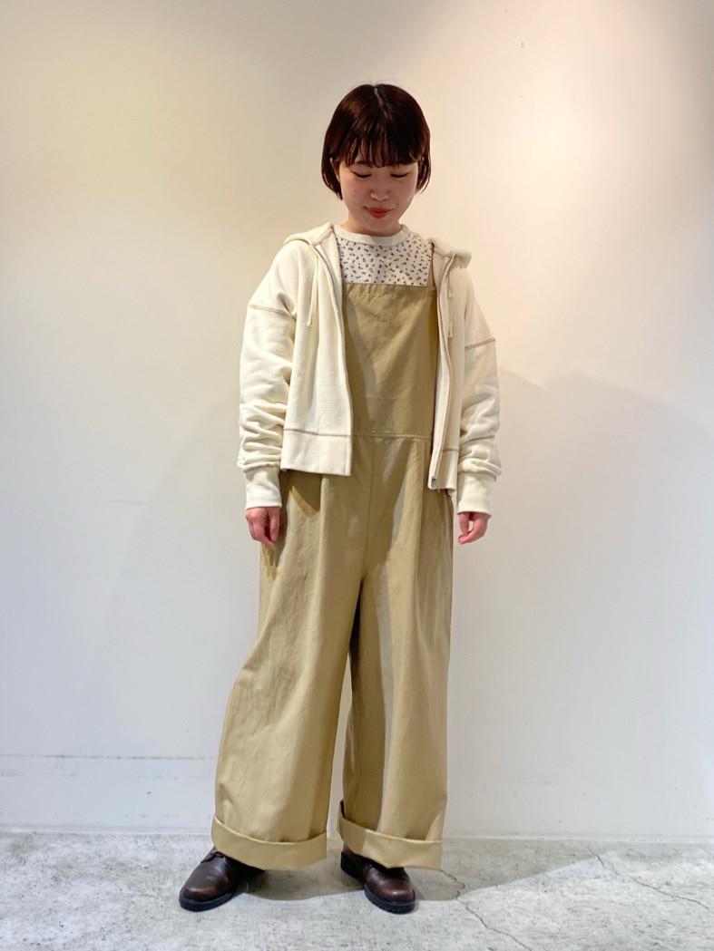 chambre de charme 京都路面 身長:150cm 2021.01.26