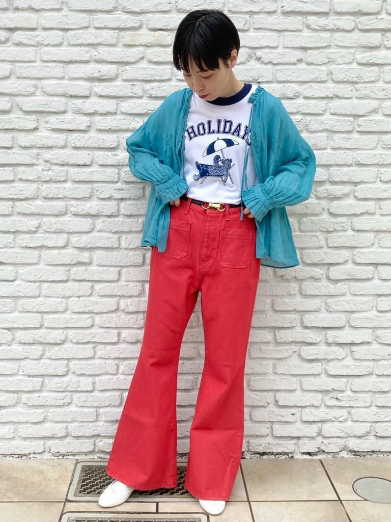 Dot and Stripes CHILD WOMAN 名古屋栄路面 身長:161cm 2021.06.03