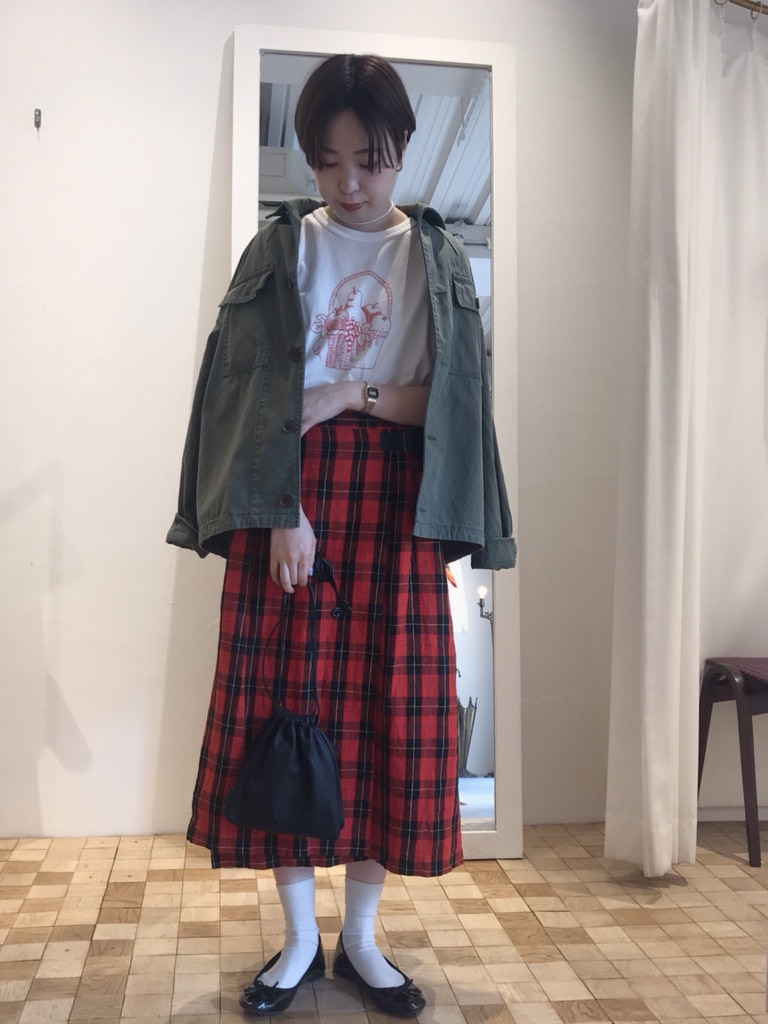 Dot and Stripes CHILD WOMAN 名古屋栄路面 身長:160cm 2020.05.03
