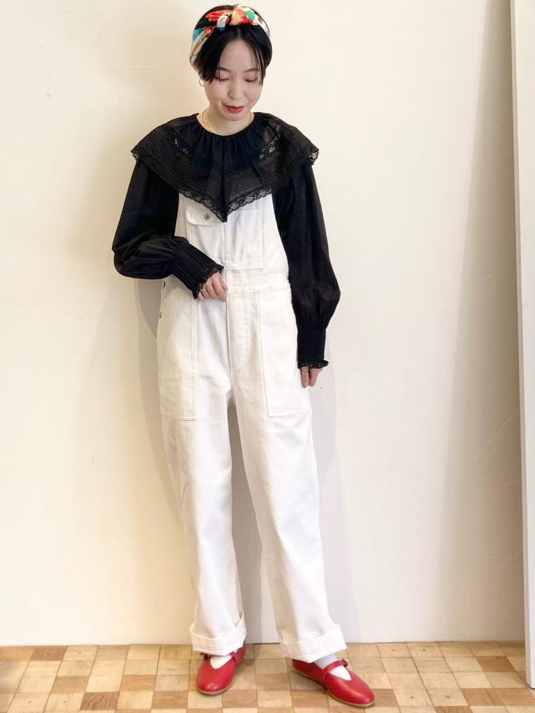 Dot and Stripes CHILD WOMAN 名古屋栄路面 身長:161cm 2021.09.06