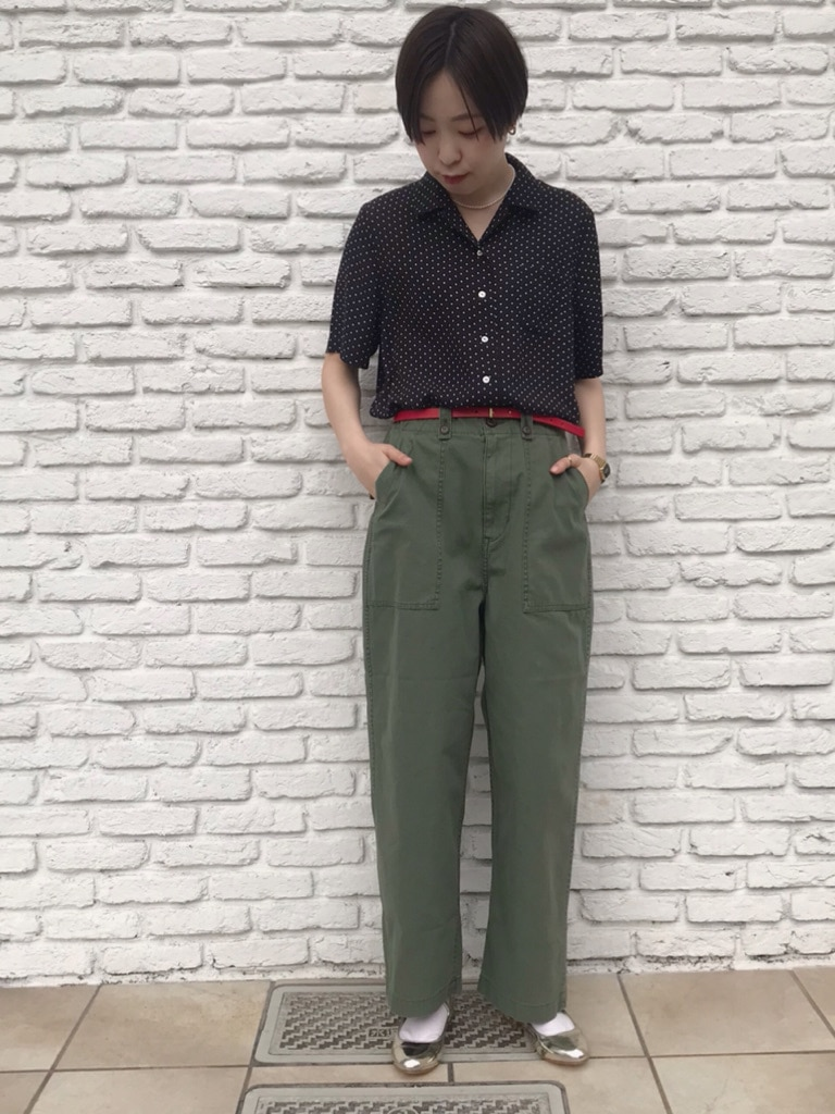 Dot and Stripes CHILD WOMAN 名古屋栄路面 身長:160cm 2020.04.07