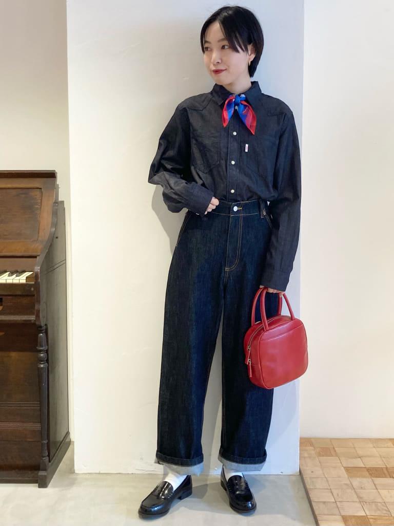 Dot and Stripes CHILD WOMAN 名古屋栄路面 身長:161cm 2021.09.07