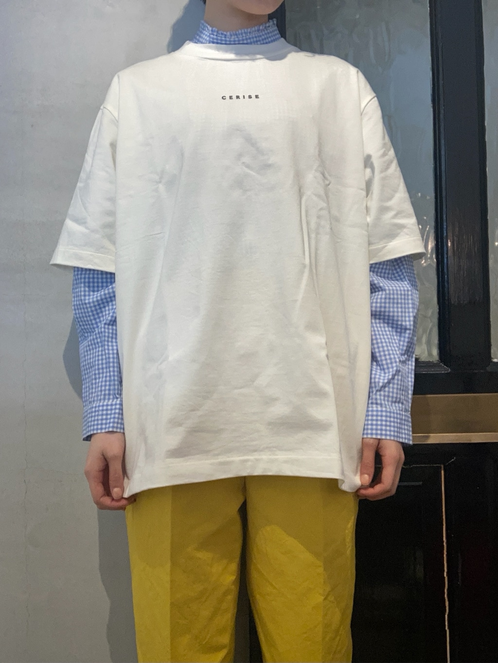 Dot and Stripes CHILD WOMAN 名古屋栄路面 身長:160cm 2021.04.10