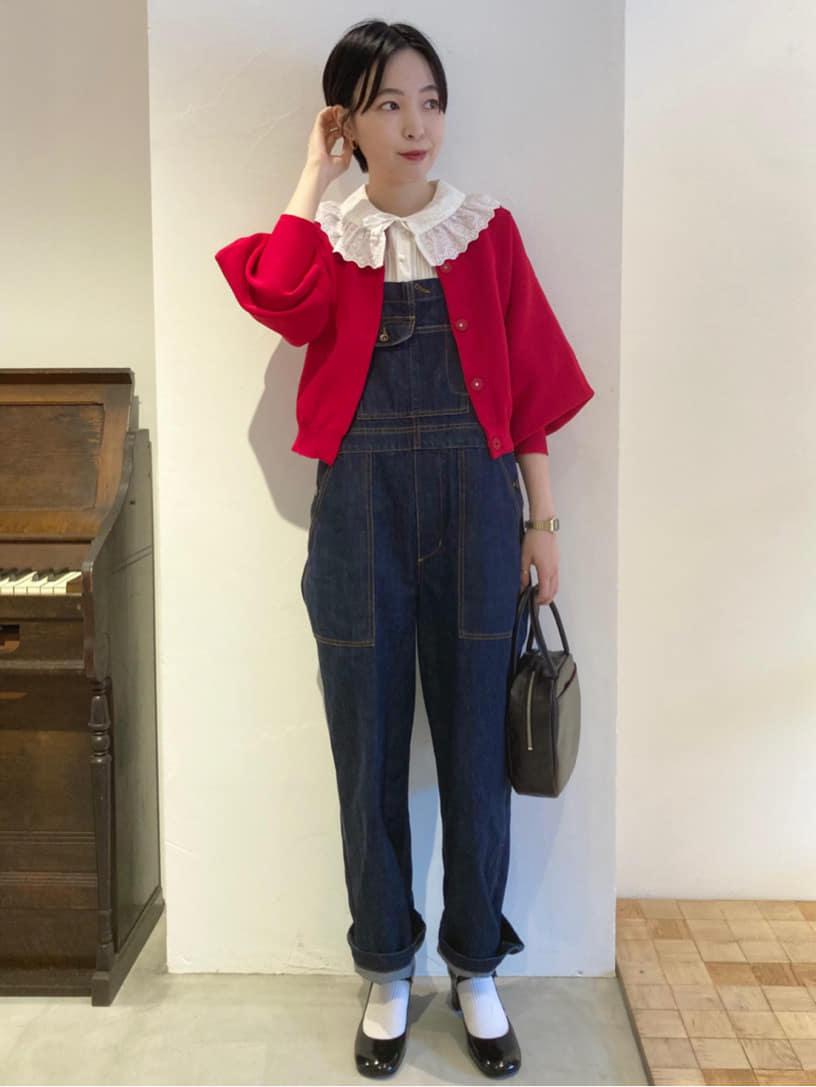 Dot and Stripes CHILD WOMAN 名古屋栄路面 身長:161cm 2021.08.18