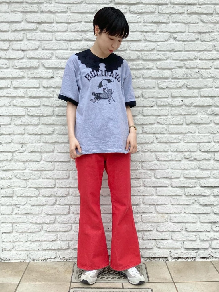 Dot and Stripes CHILD WOMAN 名古屋栄路面 身長:161cm 2021.05.28