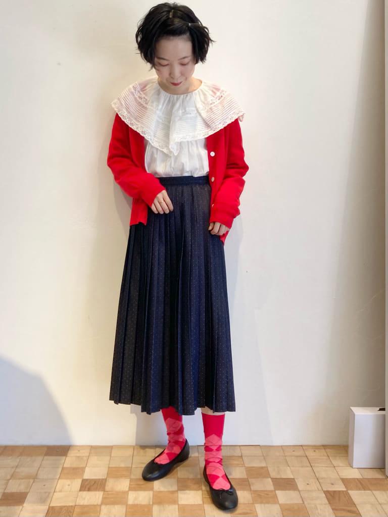 Dot and Stripes CHILD WOMAN 名古屋栄路面 身長:161cm 2021.10.03