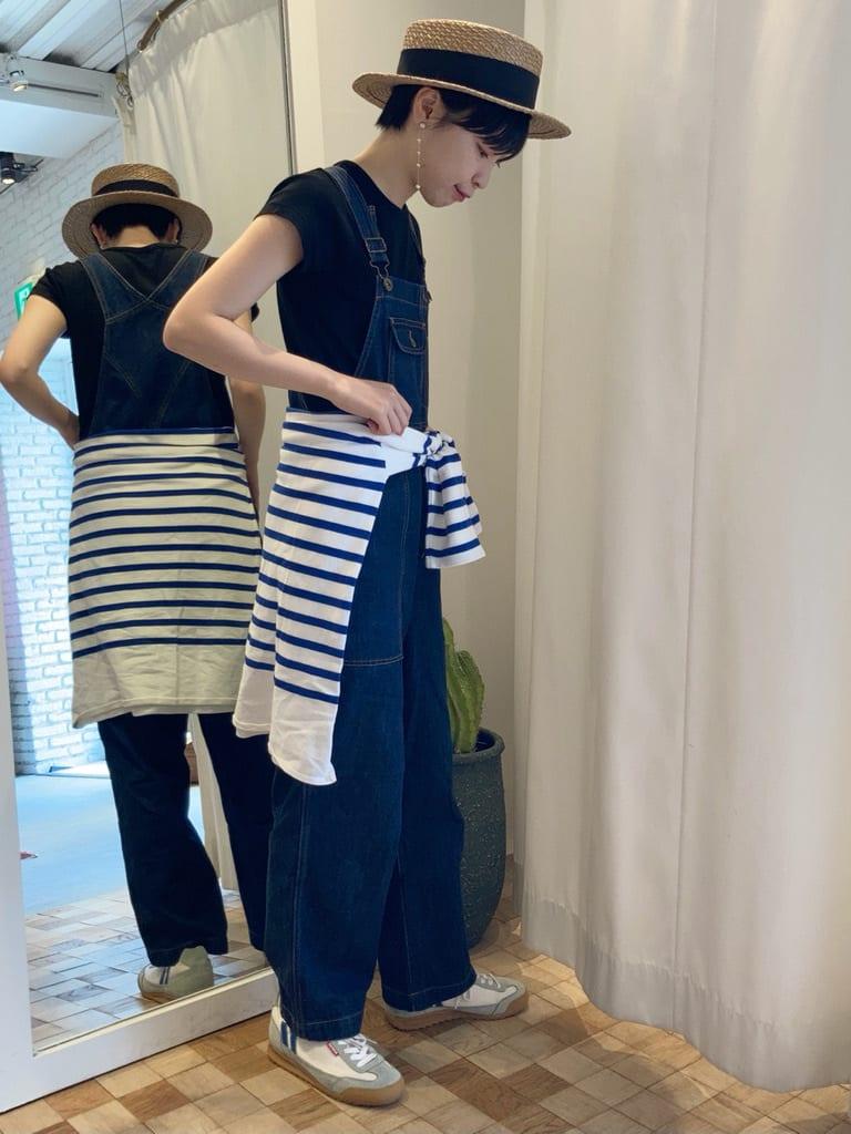 Dot and Stripes CHILD WOMAN 名古屋栄路面 身長:161cm 2021.06.20