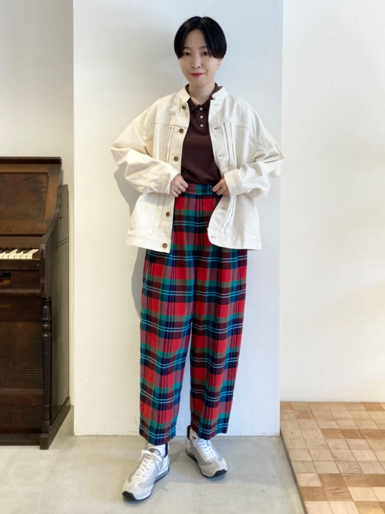 Dot and Stripes CHILD WOMAN 名古屋栄路面 身長:161cm 2021.09.01