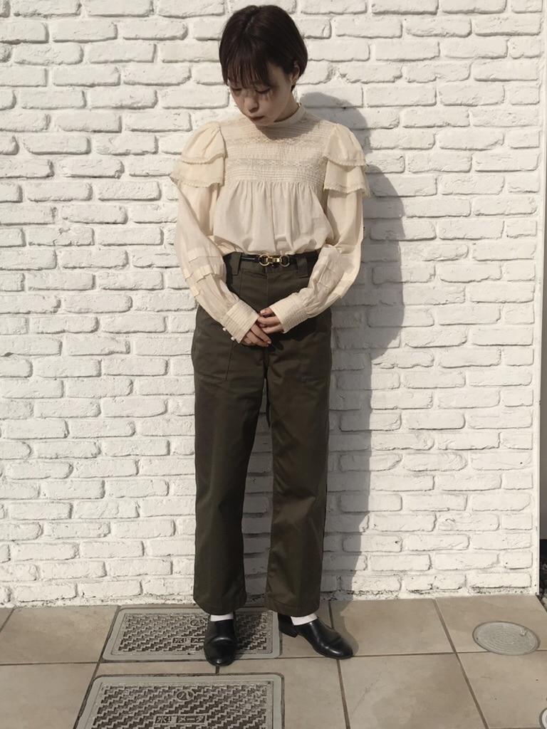 Dot and Stripes CHILD WOMAN 名古屋栄路面 身長:160cm 2020.01.06