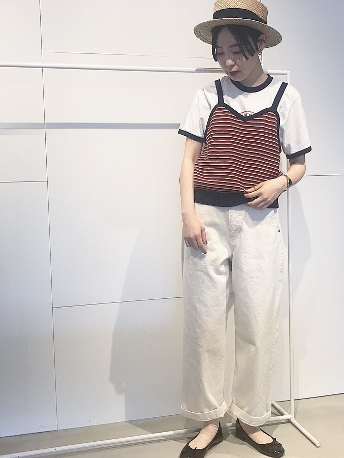 Dot and Stripes CHILD WOMAN 名古屋栄路面 身長:160cm 2020.06.09
