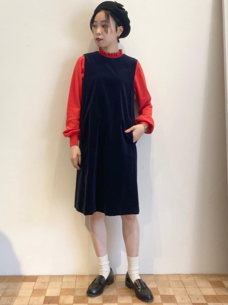 Dot and Stripes CHILD WOMAN 名古屋栄路面 身長:161cm 2021.09.26