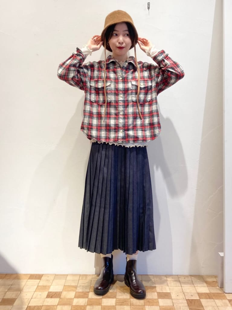 Dot and Stripes CHILD WOMAN 名古屋栄路面 身長:161cm 2021.10.14