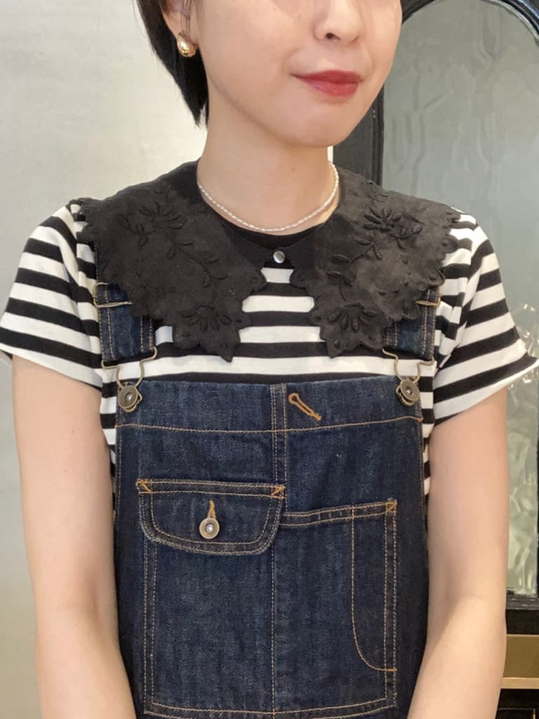 Dot and Stripes CHILD WOMAN 名古屋栄路面 身長:161cm 2021.07.28