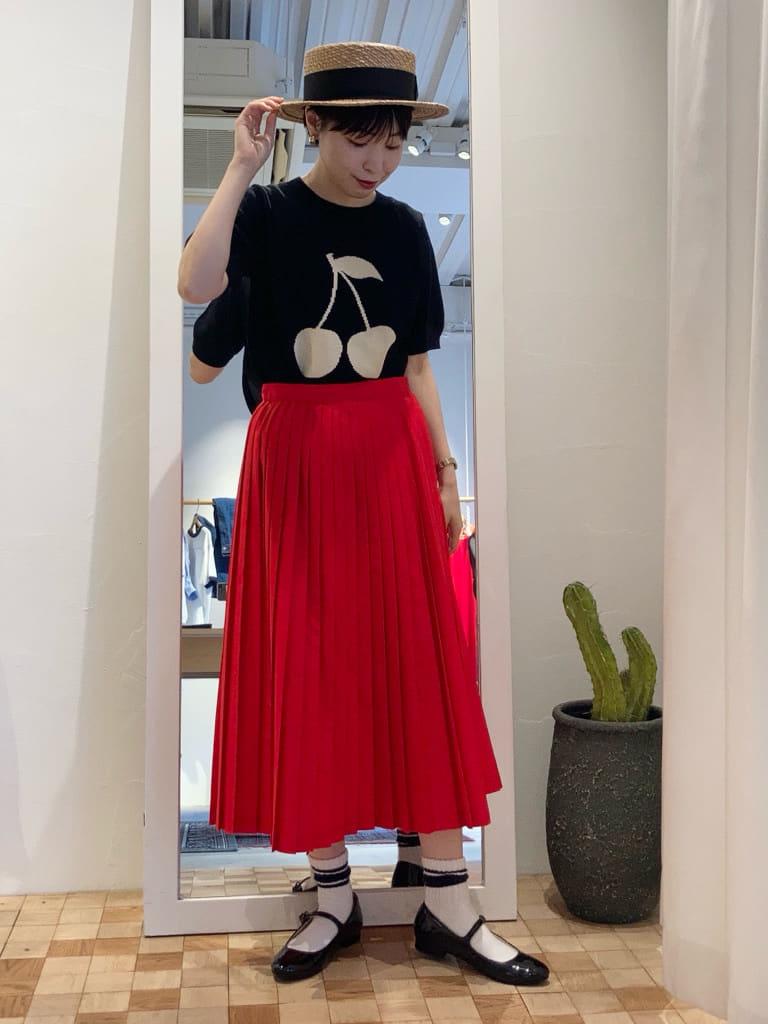 Dot and Stripes CHILD WOMAN 名古屋栄路面 身長:161cm 2021.06.12