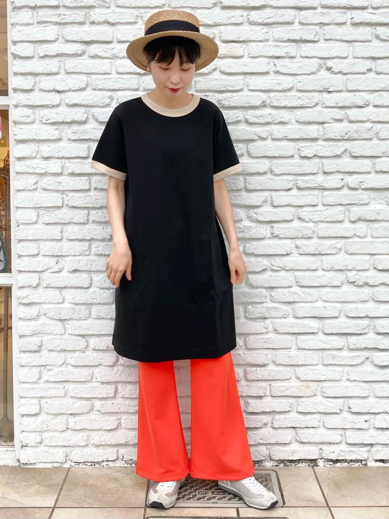 Dot and Stripes CHILD WOMAN 名古屋栄路面 身長:161cm 2021.06.22