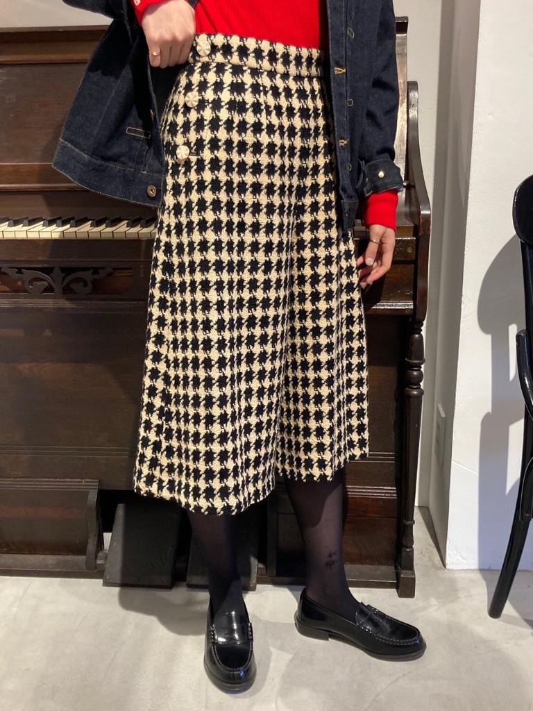 Dot and Stripes CHILD WOMAN 名古屋栄路面 身長:160cm 2020.10.27