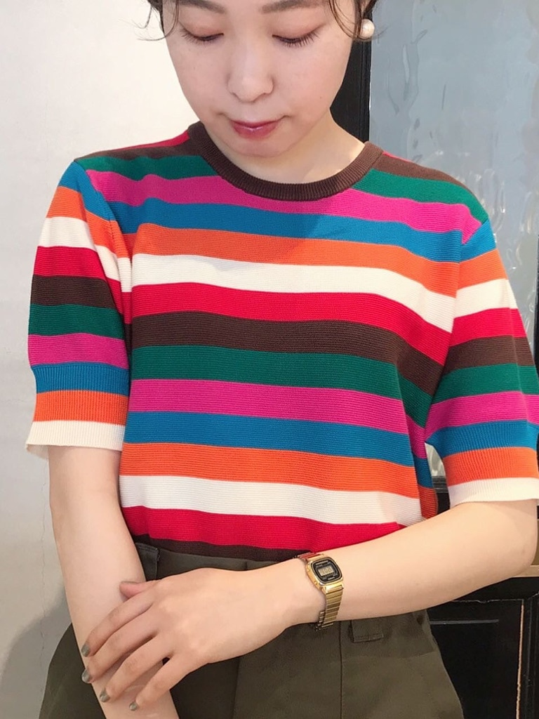 Dot and Stripes CHILD WOMAN 名古屋栄路面 身長:160cm 2020.07.10