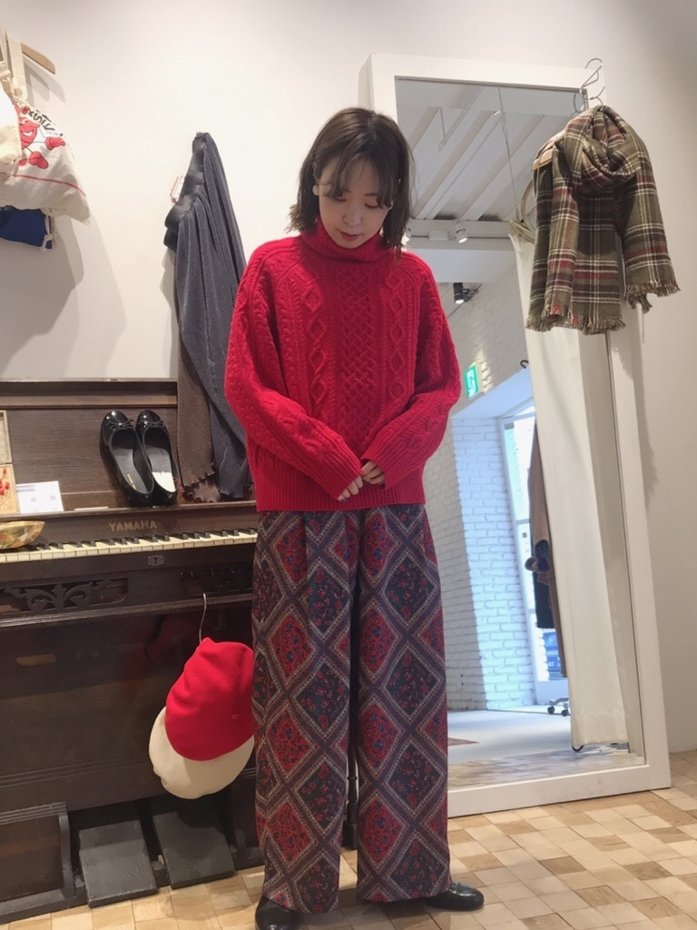 Dot and Stripes CHILD WOMAN 名古屋栄路面 身長:160cm 2019.12.07