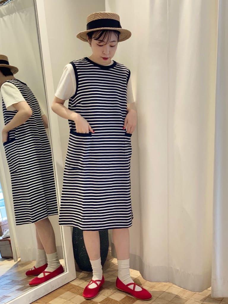 Dot and Stripes CHILD WOMAN 名古屋栄路面 身長:161cm 2021.07.13