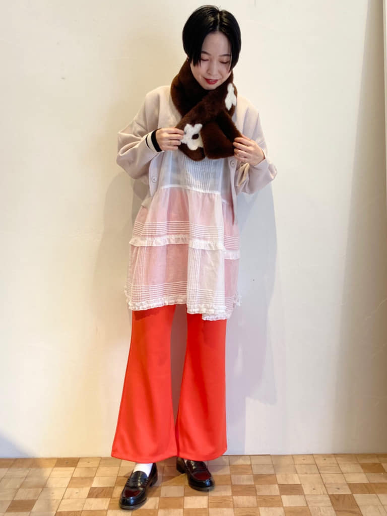 【 NEW 】Dot and Stripes CHILD WOMAN 名古屋栄路面 身長:161cm 2021.10.17