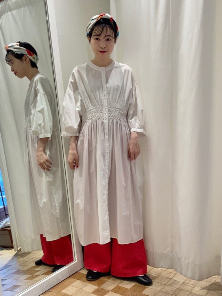Dot and Stripes CHILD WOMAN 名古屋栄路面 身長:161cm 2021.07.04