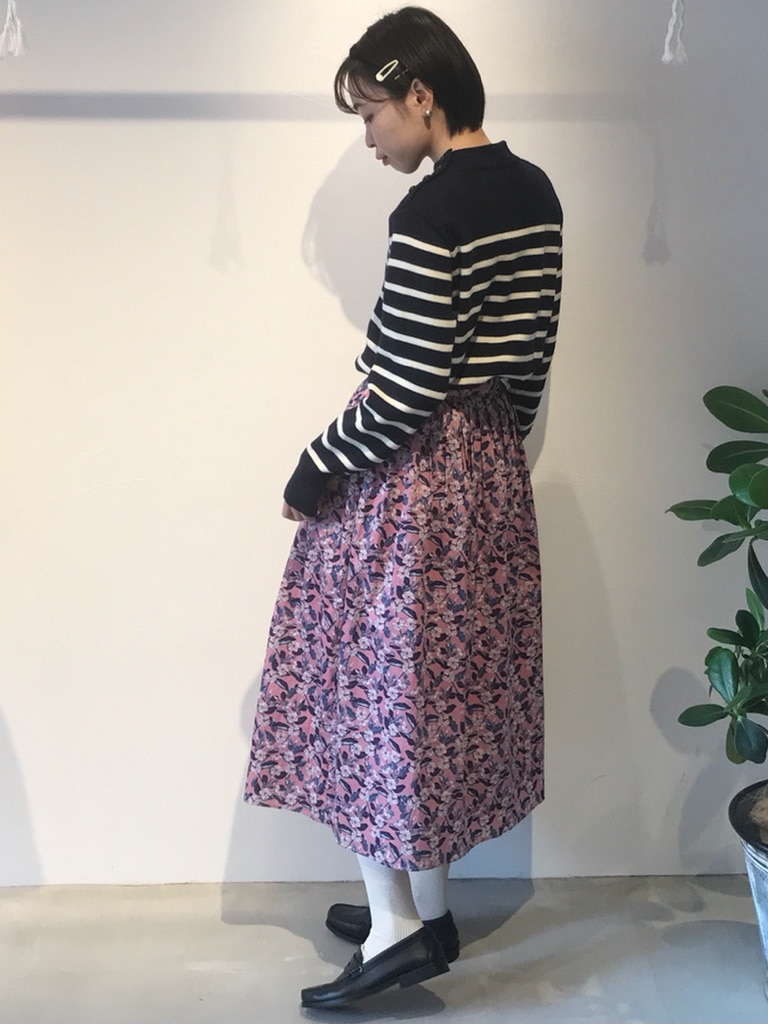 Dot and Stripes CHILD WOMAN 名古屋栄路面 身長:160cm 2020.12.17