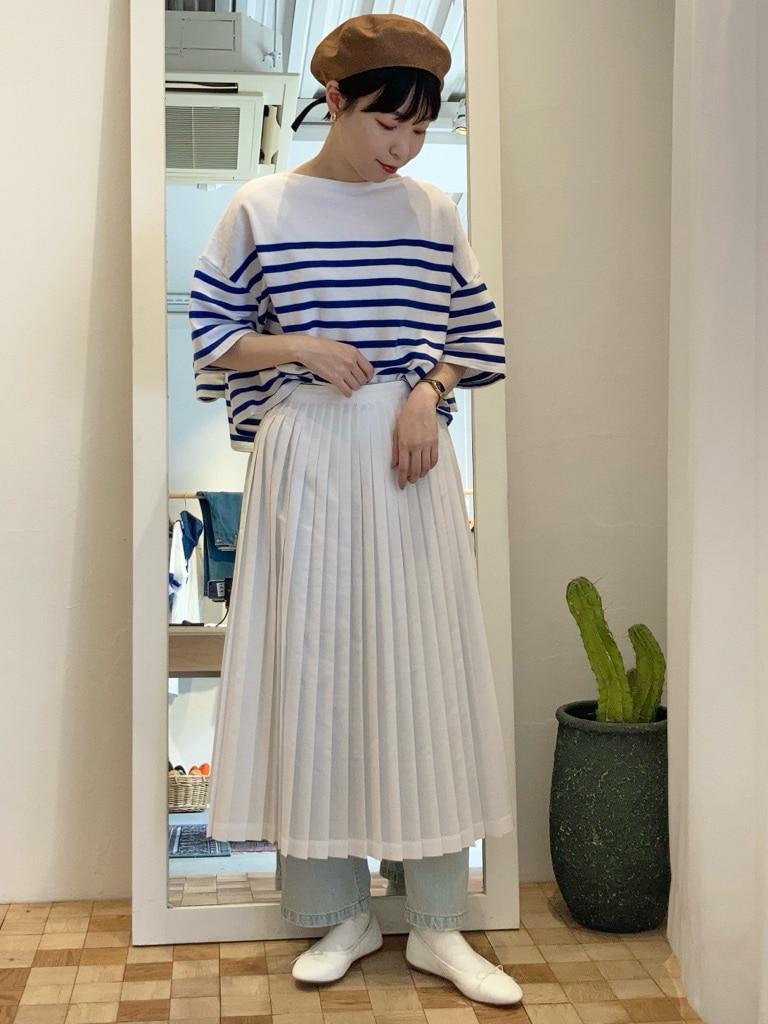 Dot and Stripes CHILD WOMAN 名古屋栄路面 身長:161cm 2021.06.07