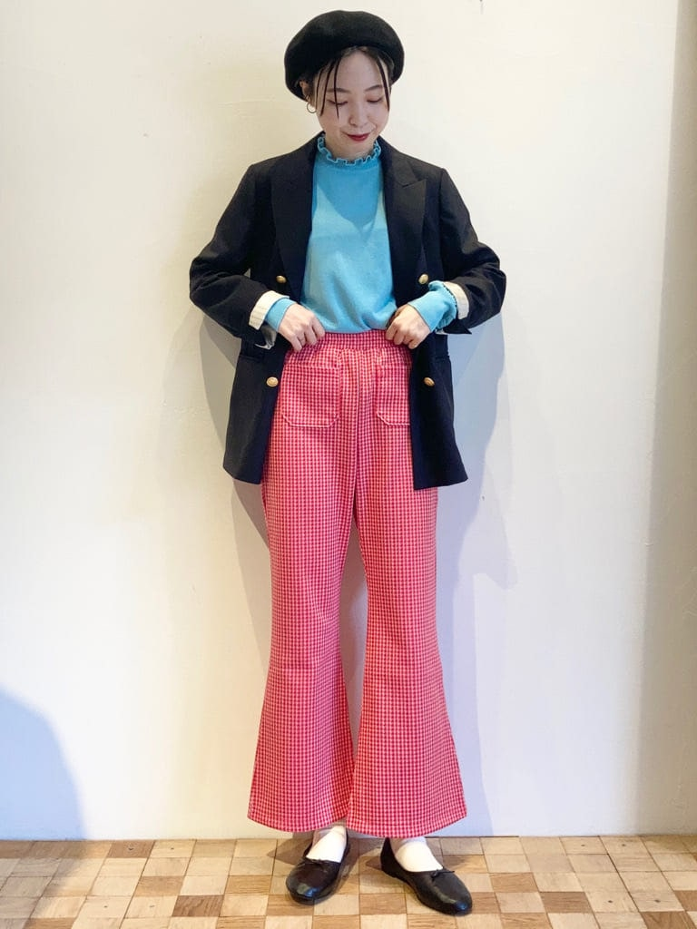 Dot and Stripes CHILD WOMAN 名古屋栄路面 身長:161cm 2021.10.10