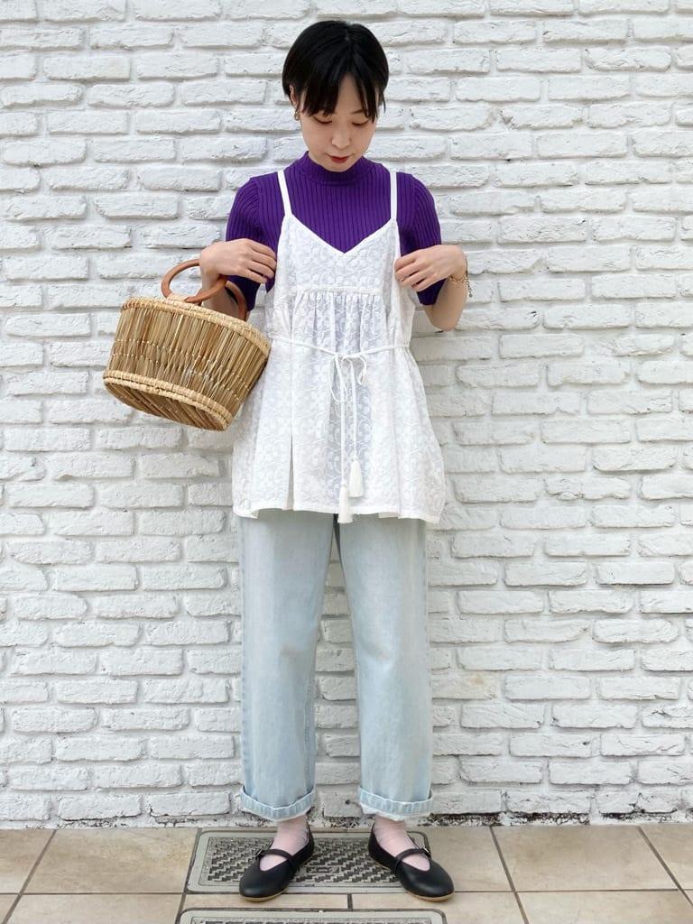 Dot and Stripes CHILD WOMAN 名古屋栄路面 身長:161cm 2021.07.12