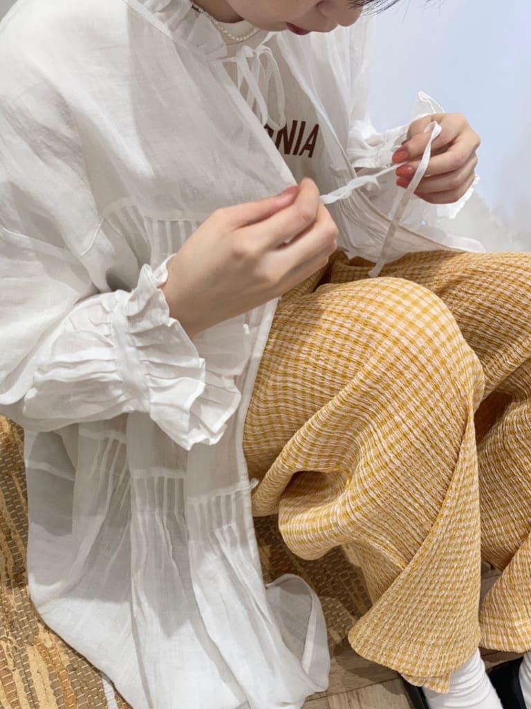 Dot and Stripes CHILD WOMAN 名古屋栄路面 身長:161cm 2021.07.14
