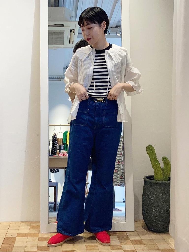 Dot and Stripes CHILD WOMAN 名古屋栄路面 身長:161cm 2021.06.01