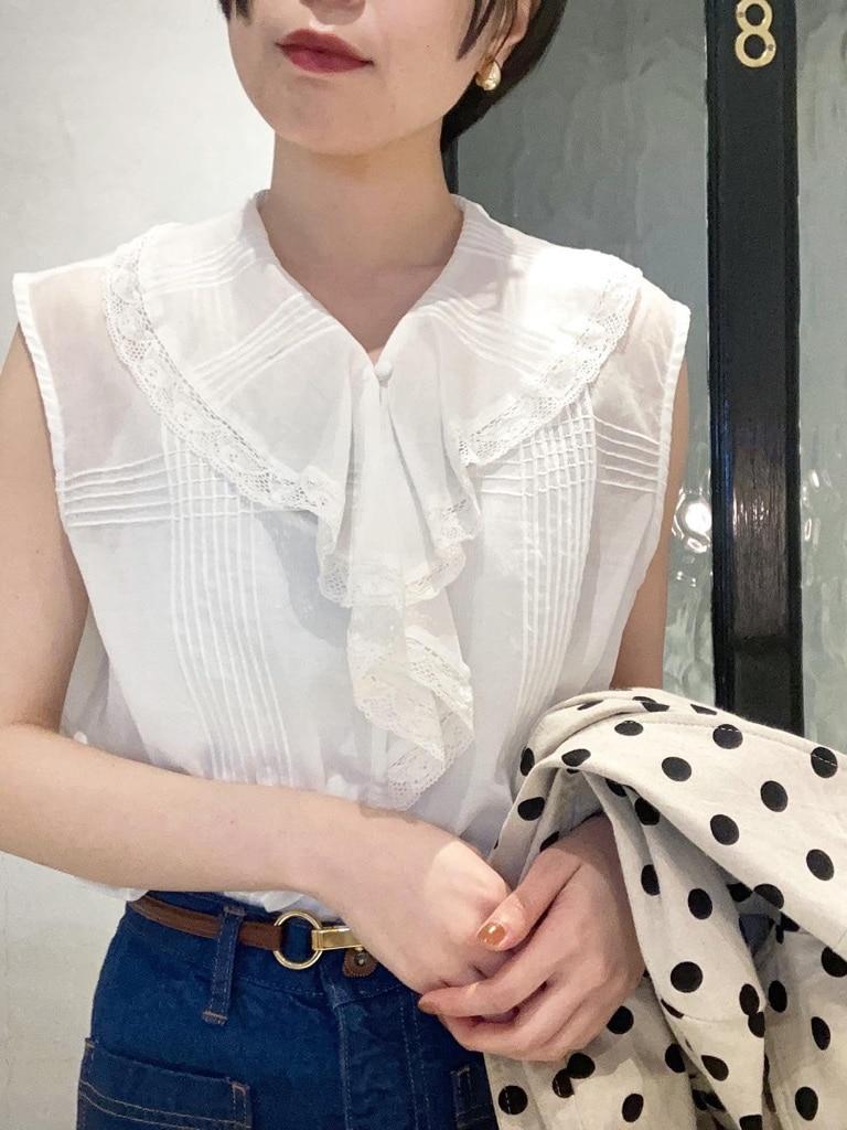 Dot and Stripes CHILD WOMAN 名古屋栄路面 身長:160cm 2021.05.15