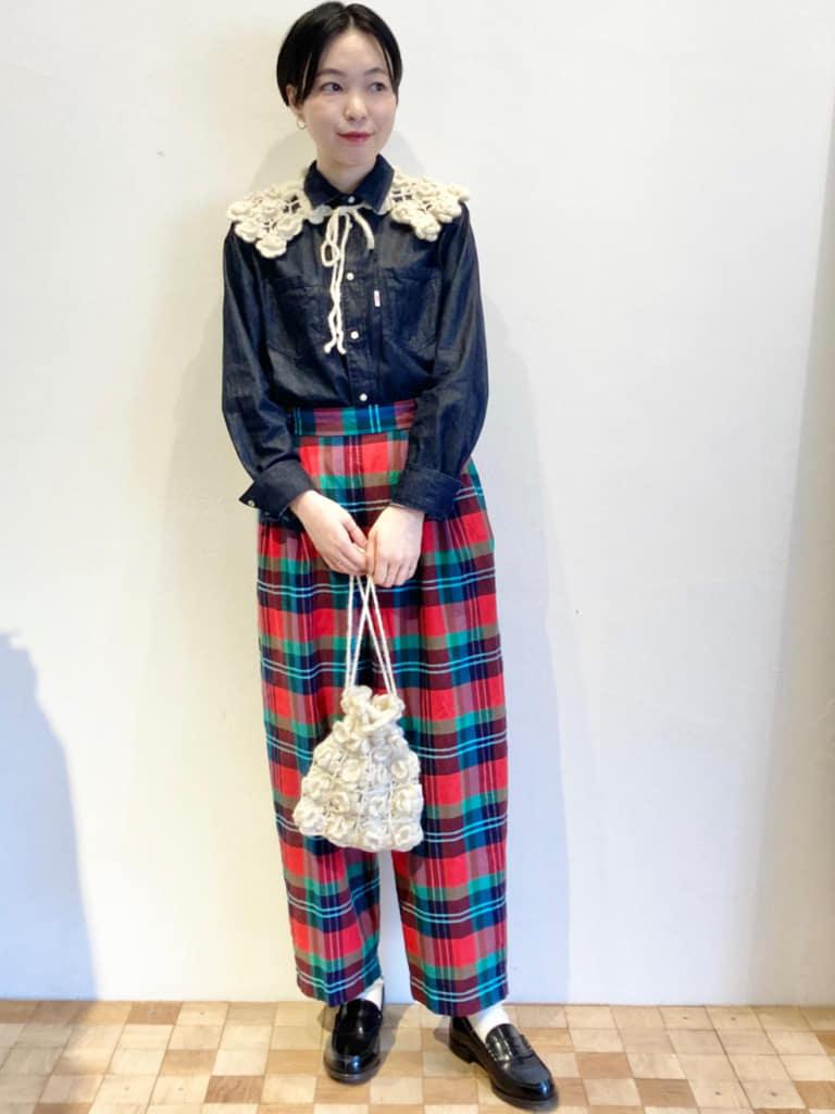Dot and Stripes CHILD WOMAN 名古屋栄路面 身長:161cm 2021.09.18