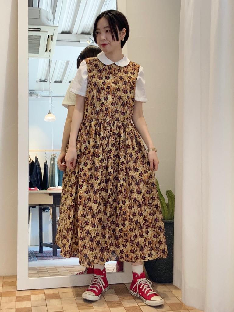 Dot and Stripes CHILD WOMAN 名古屋栄路面 身長:160cm 2021.05.17