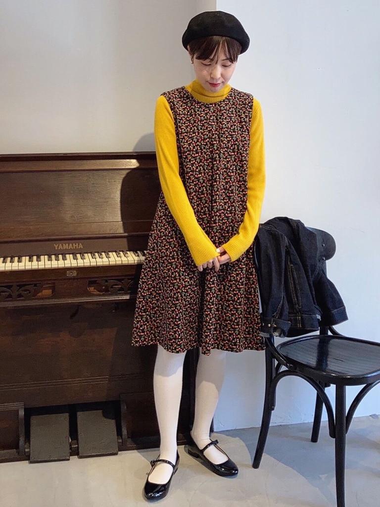 Dot and Stripes CHILD WOMAN 名古屋栄路面 身長:160cm 2020.10.15