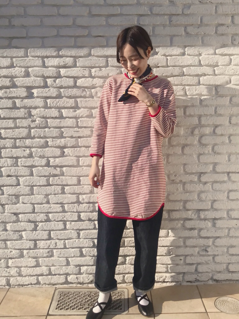 Dot and Stripes CHILD WOMAN 名古屋栄路面 身長:160cm 2020.04.23