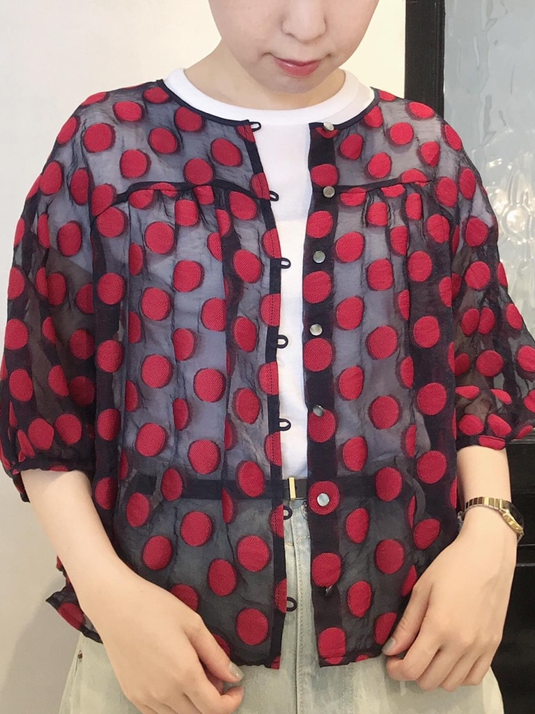 Dot and Stripes CHILD WOMAN 名古屋栄路面 身長:160cm 2020.07.08
