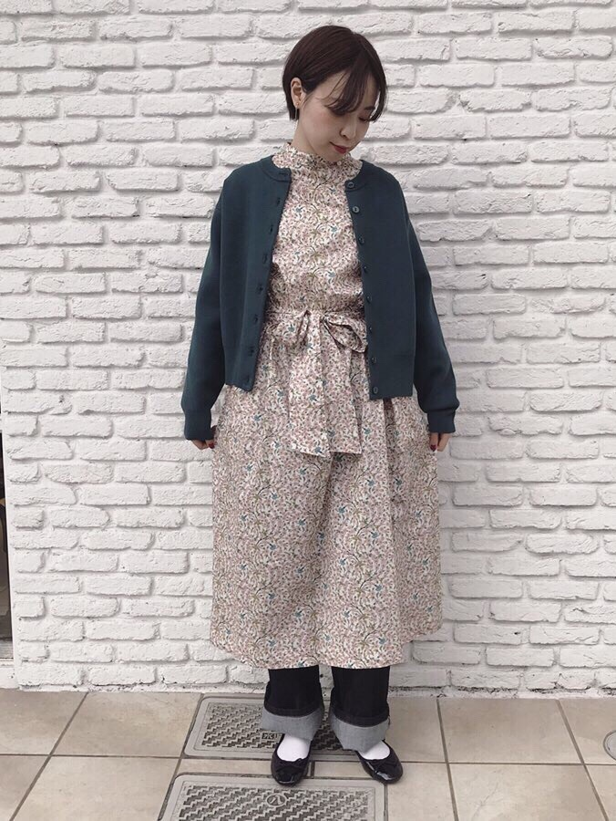 Dot and Stripes CHILD WOMAN 名古屋栄路面 身長:160cm 2019.12.12