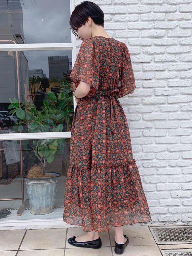 Dot and Stripes CHILD WOMAN 名古屋栄路面 身長:160cm 2020.07.22