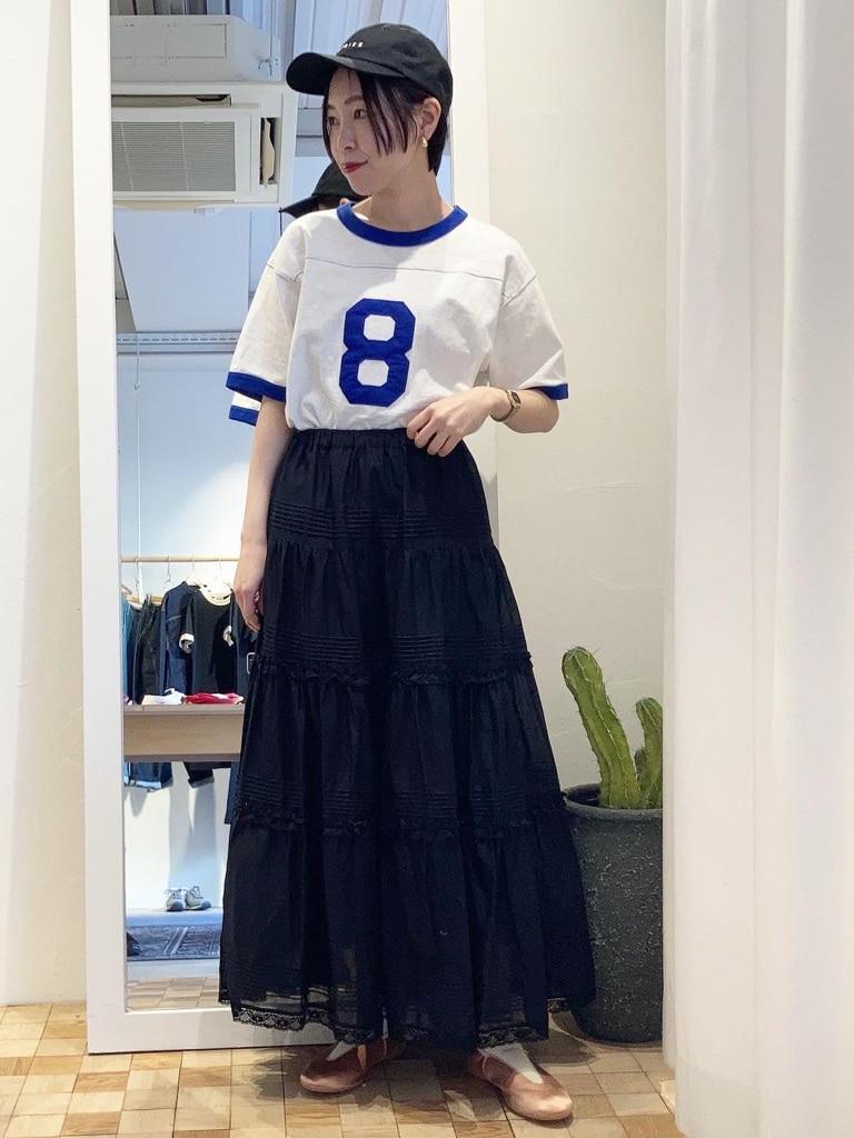 Dot and Stripes CHILD WOMAN 名古屋栄路面 身長:160cm 2021.05.16