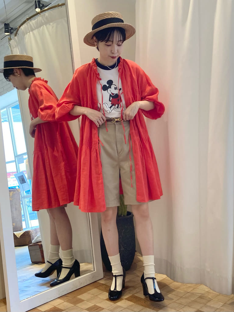 Dot and Stripes CHILD WOMAN 名古屋栄路面 身長:161cm 2021.07.03