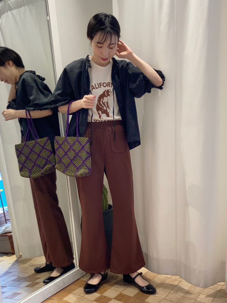 Dot and Stripes CHILD WOMAN 名古屋栄路面 身長:161cm 2021.07.05