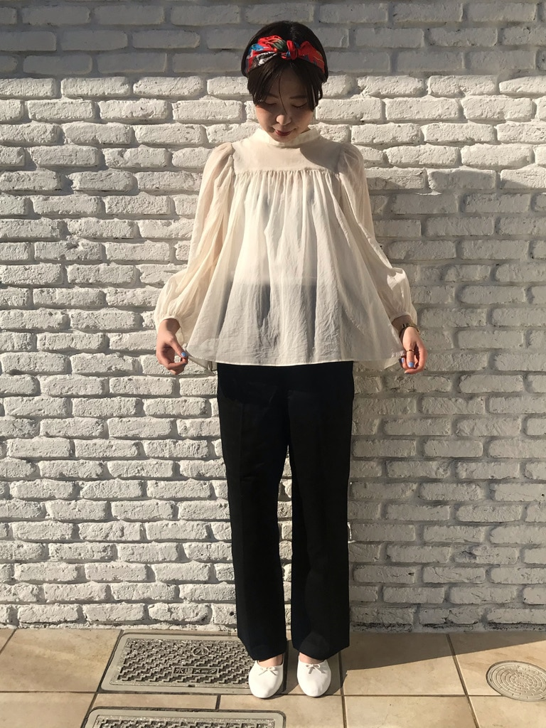 Dot and Stripes CHILD WOMAN 名古屋栄路面 身長:160cm 2020.04.17