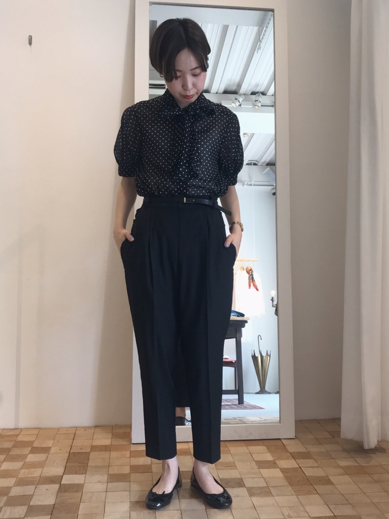 Dot and Stripes CHILD WOMAN 名古屋栄路面 身長:160cm 2020.04.30