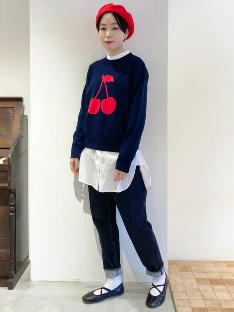 Dot and Stripes CHILD WOMAN 名古屋栄路面 身長:161cm 2021.09.02