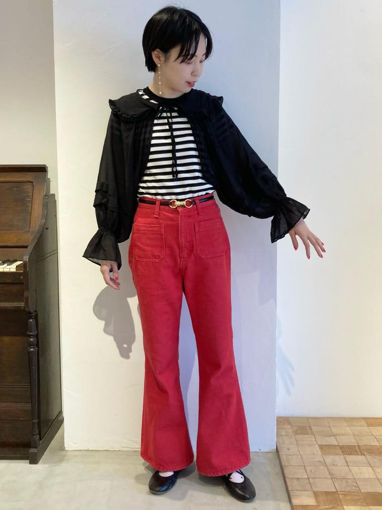 Dot and Stripes CHILD WOMAN 名古屋栄路面 身長:161cm 2021.08.09