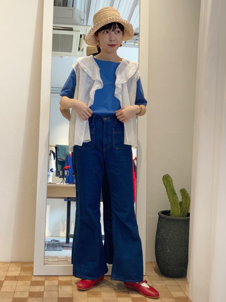 Dot and Stripes CHILD WOMAN 名古屋栄路面 身長:161cm 2021.06.10