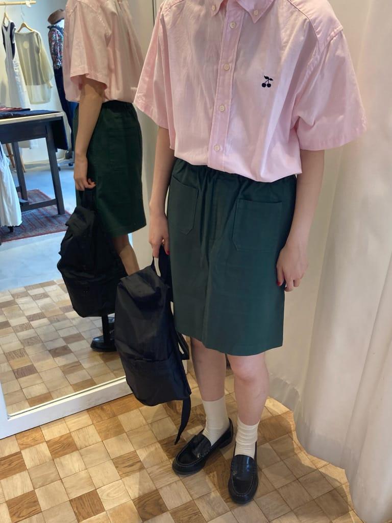 Dot and Stripes CHILD WOMAN 名古屋栄路面 身長:161cm 2021.07.02